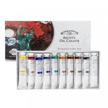 Масляные краски WINSOR & NEWTON. Набор 10 цветов по 21 мл