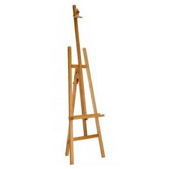 Мольберт деревянный, студийный, напольного типа (модель ТМ 17)