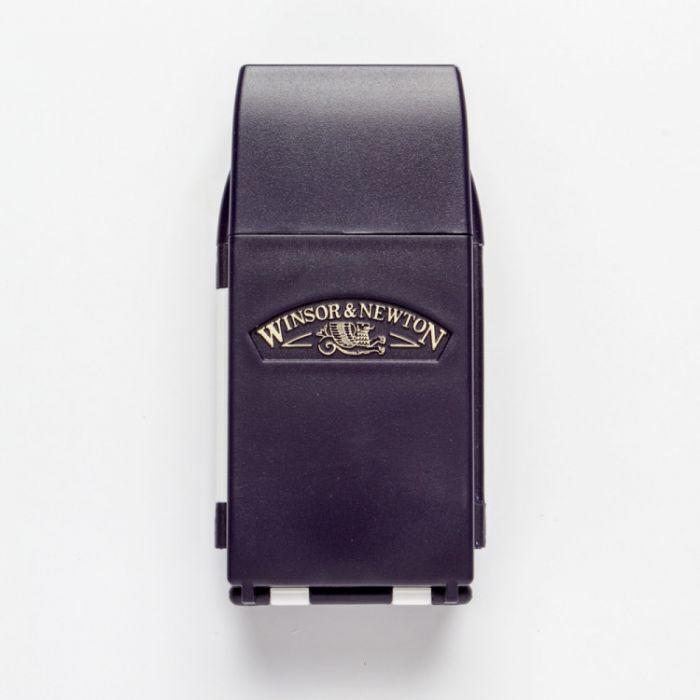 Набор для путешествий WINSOR & NEWTON: профессиональная акварель 12 кювет половинок, кисть, губка, фляга