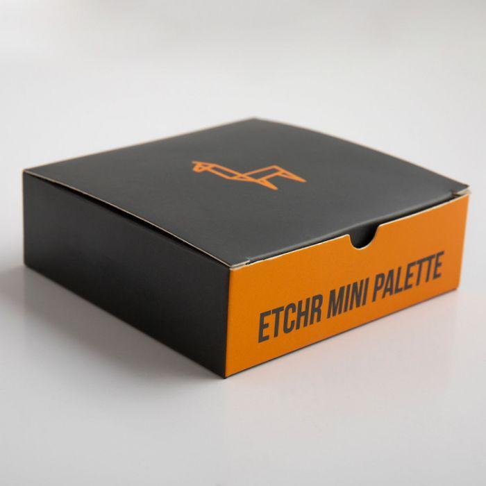 Керамическая мини палитра ETCHR для путешествий на 37 цветов