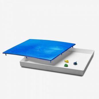 Герметичная палитра бокс от Masterson - Sta-Wet Palette Seal. Для любых палитр размером не более 30 х 40 х 4,5 см