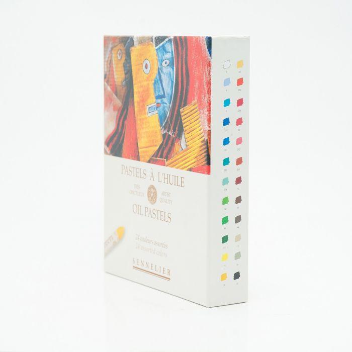 Пастель масляная Sennelier. Набор 24 цвета, серия «Универсальный»