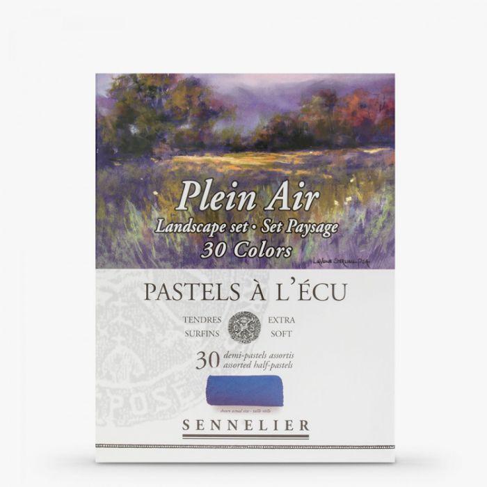 """Пастель сухая Sennelier. Серия """"Plein Air Landscape"""". Набор 30 мелков половинок"""