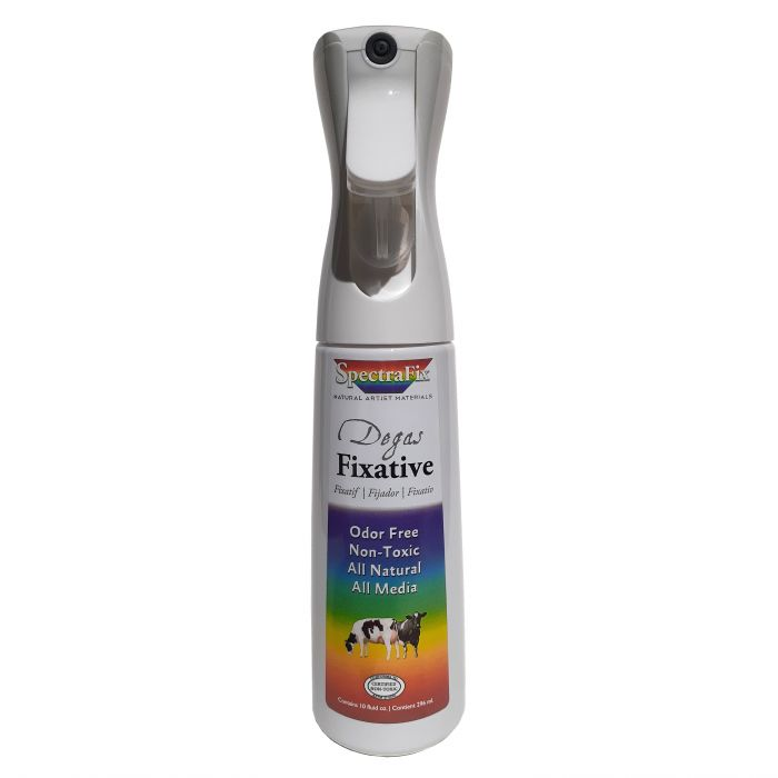 Фиксатив для пастели SpectraFix по рецепту Дега (300 мл) в бутылке с распылителем Flairosol