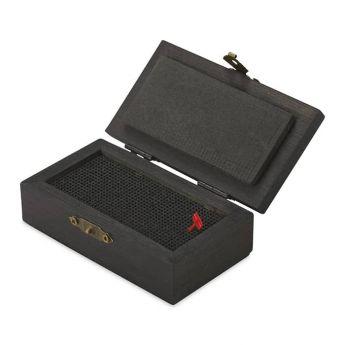Точилка сетка для угля и пастели с деревянной коробкой контейнером для сбора пастельного, или угольного порошка